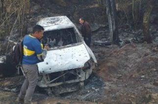 En Cauca hallan muerta dentro de un carro incinerado a candidata a una de las alcaldías del departamento