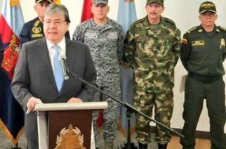 Canciller Holmes Trujillo mostró presuntas nuevas pruebas de incursión del ELN en Venezuela