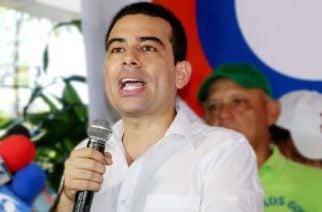 Carlos Gómez reafirma que ante los ataque su respuesta siempre serán las propuestas
