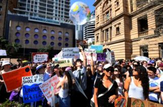 Masivas marchas en diferentes países para exigir atención al cambio climático