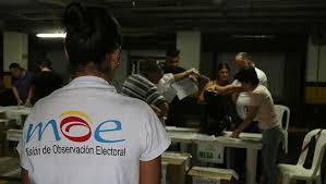 MOE advierte ausencia de reportes de financiación de campañas