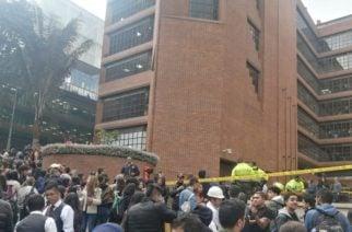 Universidad Javeriana se pronuncia luego de la muerte de uno de sus estudiantes