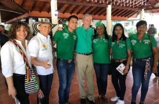 Rumbo a la Alcaldía, Juan Carlos Burgos recibe apadrinamiento de la dirigencia nacional del Partido Verde