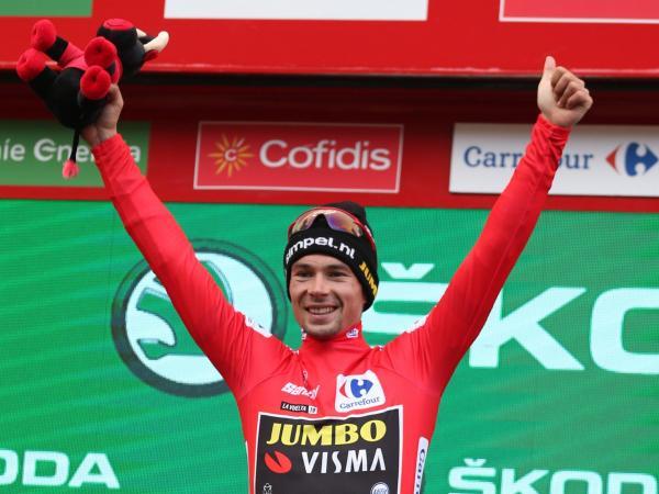 Primoz Roglic logró su primera victoria en la Vuelta de España 2019