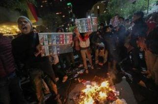 Bolivia se suma a la desestabilización en Suramérica con protestas contra Evo Morales