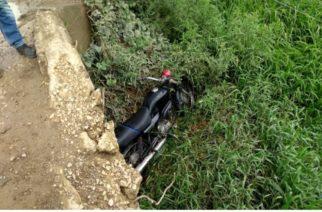 Hombre muere en zona rural de Montería tras caer con su moto a un barranco