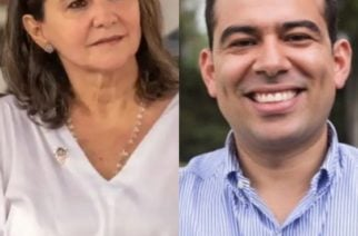 Milene Andrade acusa a Carlos Gómez de mentir en las encuestas
