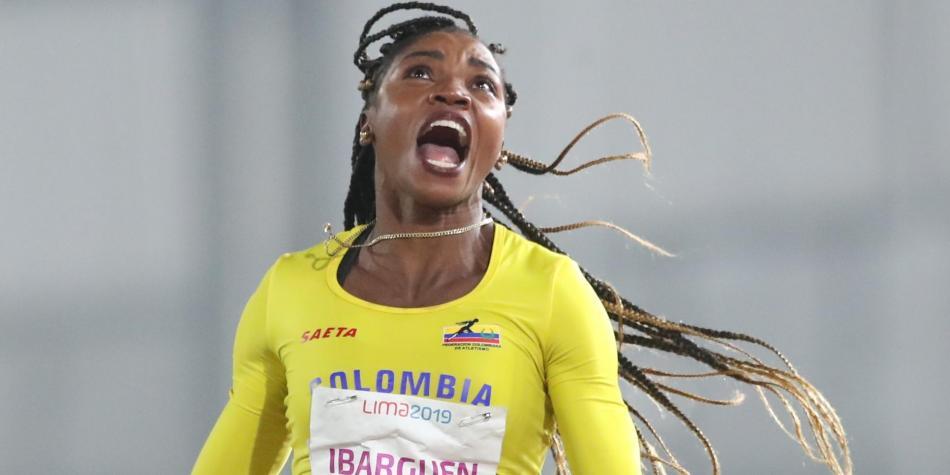 La atleta colombiana Caterine Ibargüen participará en el salto triple en Catar