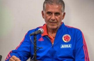 Conozca los 24 jugadores seleccionados por Queiroz para los amistosos ante Chile y Argelia