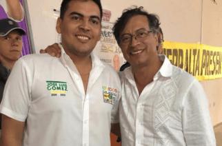 Senador Gustavo Petro respalda candidatura de Jose Luis Gómez para el Concejo de Montería