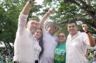 ¡Contundente respaldo! Monterianos acompañaron a Jose Luis Gómez en su 'Gran Cierre de Campaña'