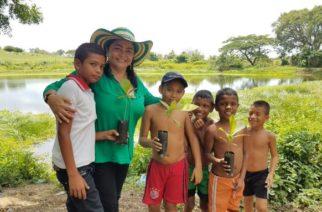 Sanandresanos siguen apostando al proyecto de Annabella Fernández