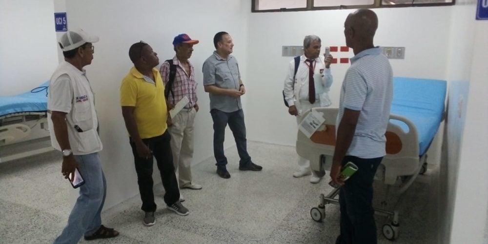 Hospital San Jerónimo avanzada en obras y atención, según veedores