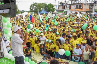 Boletín de prensa: San Antero marchó con Carlos Gómez, el candidato que propone el verdadero rescate del turismo para este municipio