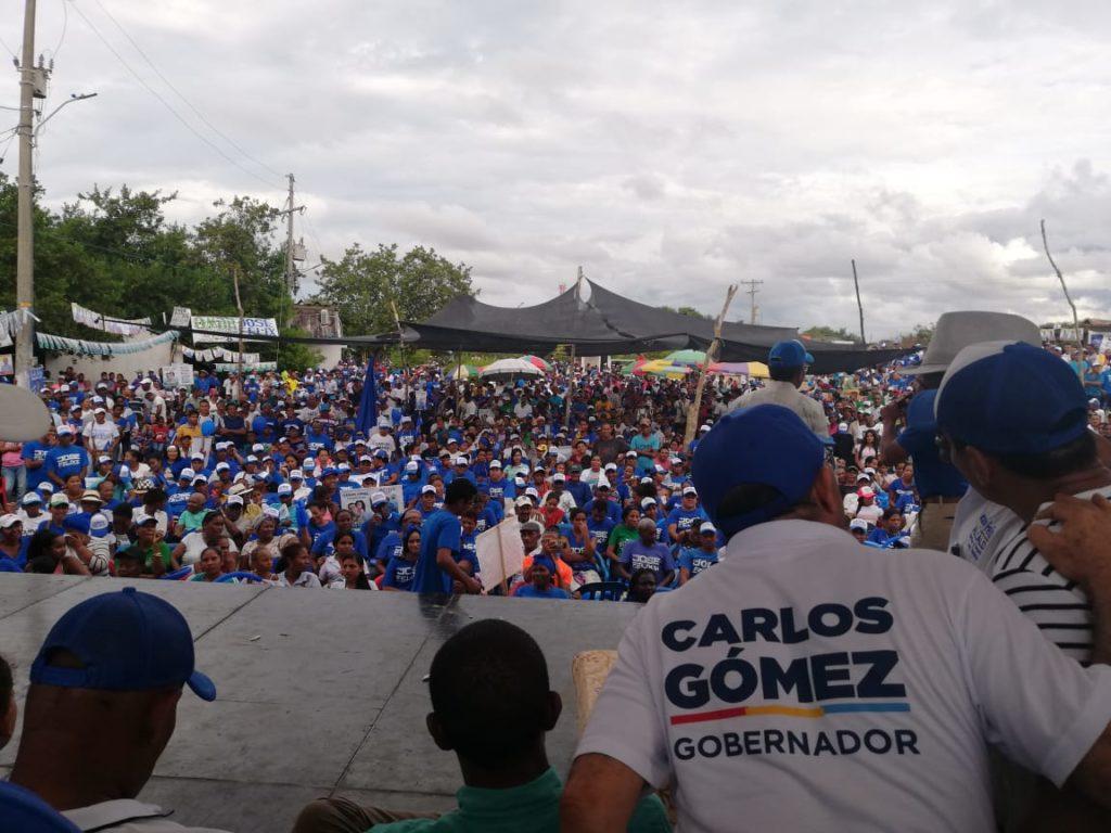 Boletín de prensa: Córdoba ya eligió a Carlos Gómez y las multitudes lo están demostrando en cada municipio