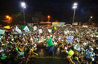 Con las #40HorasImparablesPorMontería, Salin Ghisays hizo su apoteósico cierre de campaña