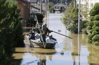 En Japón se registran 10 muertos y 16 desaparecidos tras tifón Hagibis