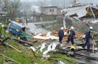 Ascienden a 68 las víctimas mortales en Japón tras tifón Hagibis