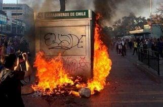 Chile en estado de excepción por manifestaciones violentas
