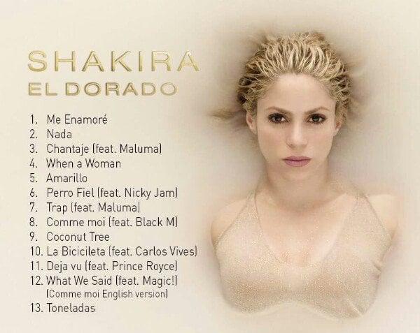 Shakira es la absoluta reina del pop latino