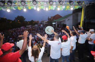 """""""Ahora le toca al pueblo"""" corearon en Sahagún más de 10 mil personas"""
