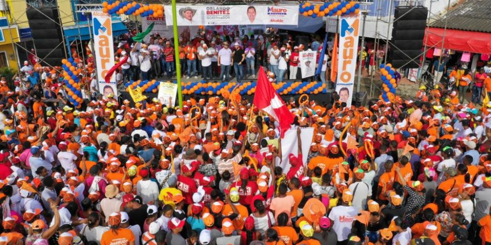 Orlando Benítez arrasa en encuestas y se perfila como el gran vencedor en las elecciones del 27 de octubre