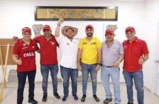La coalición política de Orlando Benítez integrada y firme por la victoria