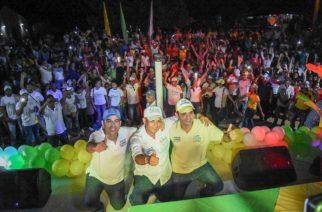 Boletín de prensa: Intenso recorrido de Carlos Gómez por la zona rural de Sahagún