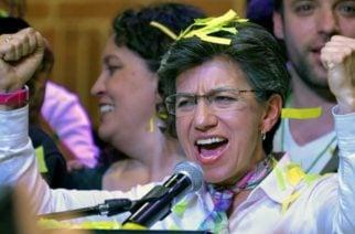 Claudia López se alzó con la alcaldía mayor y es la primera mujer Lgbt en asumir el cargo