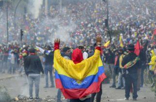 En Ecuador van 5 muertos, 575 heridos y 800 detenidos por protestas