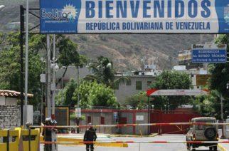 Frontera con Venezuela se cerrará desde este viernes