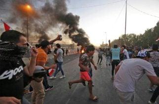 17 muertos y decenas de heridos tras violentas protestas en Irak