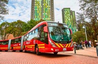 Un nuevo accidente se presentó con uno de los buses del Transmilenio