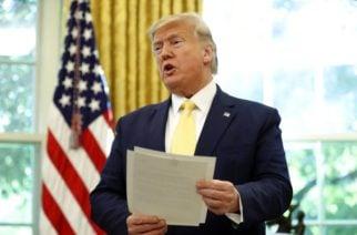 Presidente Trump confirmó que Ejército de EE.UU. aniquiló a portavoz del EI