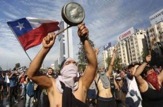 Sigue la tensión en Chile: Protestan en memoria de un indígena mapuche asesinado hace un año