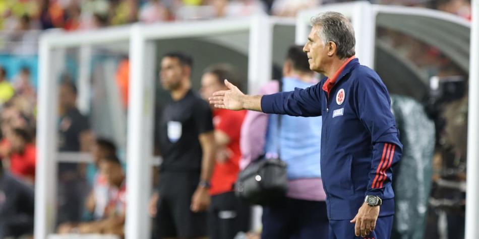 """""""Era necesario para jugar más rápido y simple"""": Queiroz tras victoria de Colombia ante Perú"""