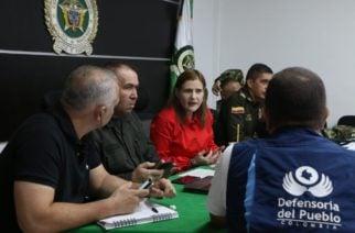 """Sandra Devia sobre el paro nacional: """"Hubo total normalidad en Montería y en todo el departamento"""""""