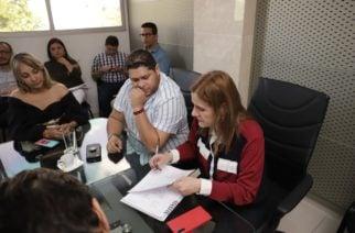Orlando Benítez realizó segunda visita para el proceso de empalme con la administración saliente
