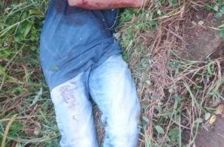 Balacera pareja: Hace pocos minutos asesinaron a un hombre en Planeta Rica