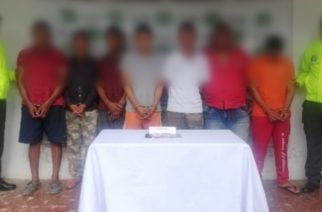 Con la captura de siete sujetos, Policía desarticuló la banda 'Reestructuración' de Montelíbano