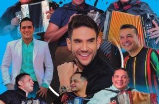 Ronal Rivera presenta su álbum 'Éxito total' con los mejores acordeoneros del vallenato
