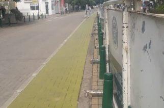 Ejército y Policía acordonan las adyacencias de la Gobernación en espera de la marcha