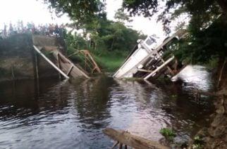 Puente que conecta a Cereté con San Pelayo se desplomó