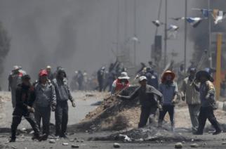 Muertes en Bolivia: Enfrentamientos entre militares y manifestantes dejó tres muertos y 30 heridos
