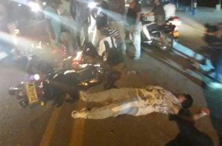 Accidente entre motos cobró la vida de tres hombres y una mujer en la vía Pueblo Nuevo-Planeta Rica