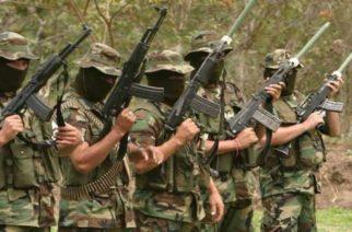 Indagaciones de la Policía atribuye el triple homicidio de Uré a 'Los Caparros' y 'Clan del Golfo'