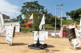 Japón donó a Colombia maquinaria para desminado