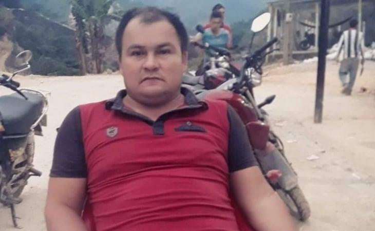 Ex combatiente Dimar Torres, asesinado en abril del año en curso.