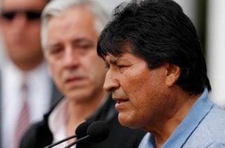 """Evo Morales en México: """"Mientras tenga la vida seguiré en política, seguiré en la lucha"""""""