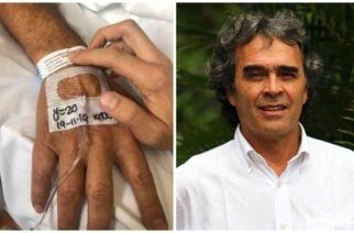 Sergio Fajardo fue hospitalizado de emergencia